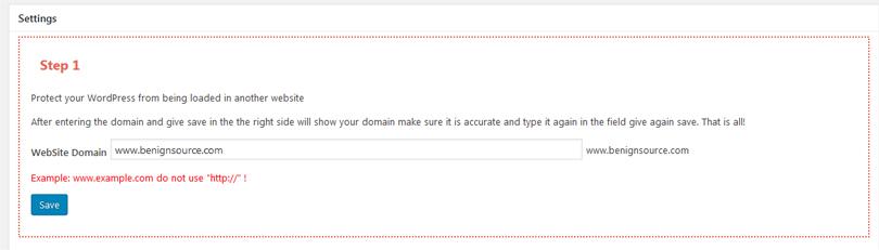 Protect your WordPress