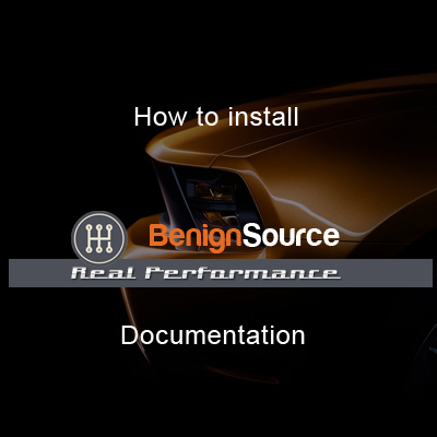 How to install Real Performance BenignSource
