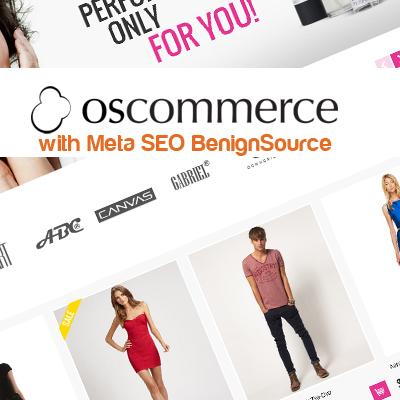 osCommerce with Meta SEO BenignSource