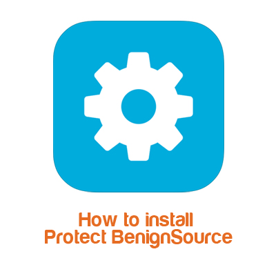 How to install Protect BenignSource