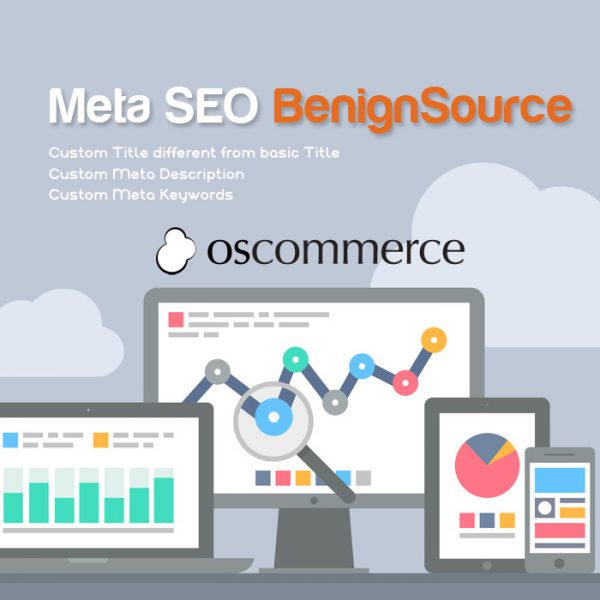 Meta SEO BenignSource For osCommerce